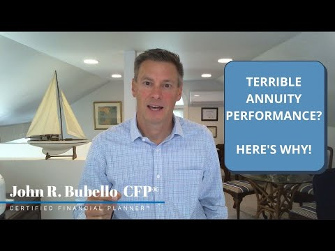 Terrible Annuity Performance? Here's Why!