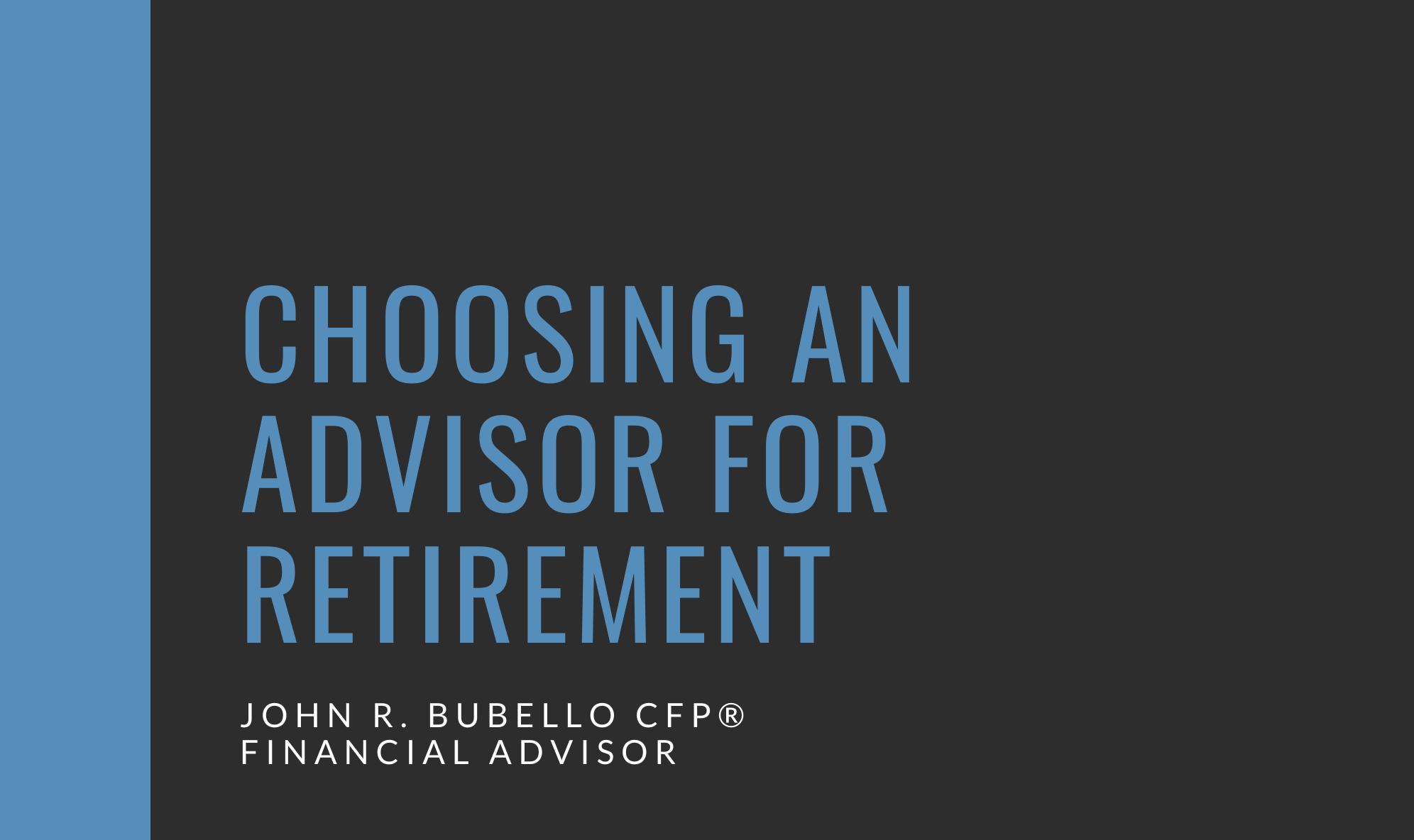Having a Retirement Plan